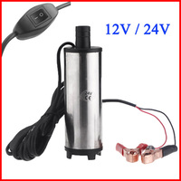 12V 24V DC Diesel Fuel Water Oil Car Camping Fishing Submersible Transfer Pump Power Tool Accessories