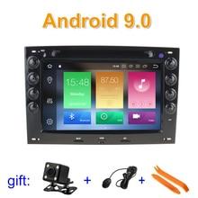 Android 9 автомобильный dvd-плеер gps для Renault Megane2 Megane 2 2006-2010 с wifi Bluetooth стерео радио