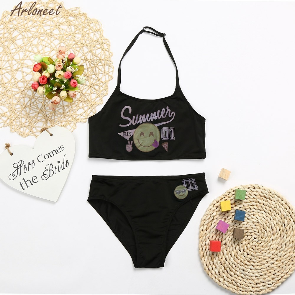 ARLONEET 2018 NEW Kid Chidren Baby Girl Letter Smile Cute Fashion Baby For Girl Clothes Mar22 W20d35 Dropshipping
