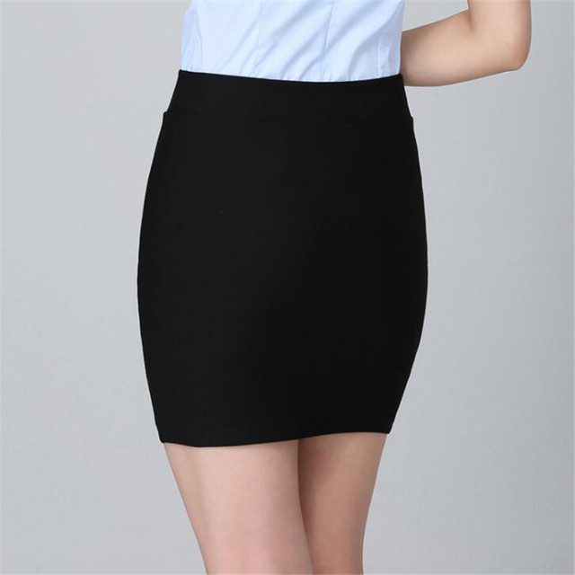 YRRETY Summer Package Hip A-Line Skirt Women Fashion Ladies Sexy Seamless Elastic Pleated High Waist Slim Mini Party Skirts 2020 4