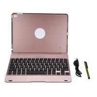 2 In 1 Bluetooth Keyboard Case Mutil Function F19 Wireless Bluetooth Keyboard Smart Case For IPad