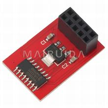 3D printers Ramps microSD(red) card adapter supporting RAMPS 1.4 standard size SD Ramps Breakout