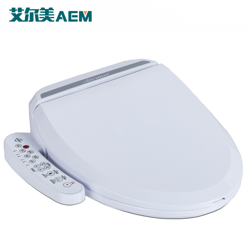 Intelligent heated toilet seat cover smart bidet toilet seats wc sitz water closet automatic - Automatic bidet toilet seat ...