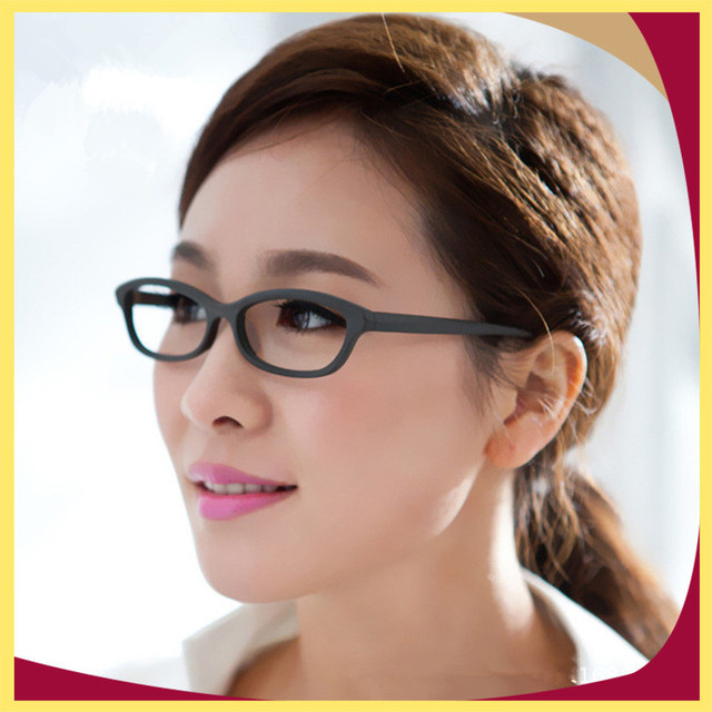 dbaa91ecdf18 High Quality Women Fashion Acetate Optical Eyewear Slim Glasses Frame