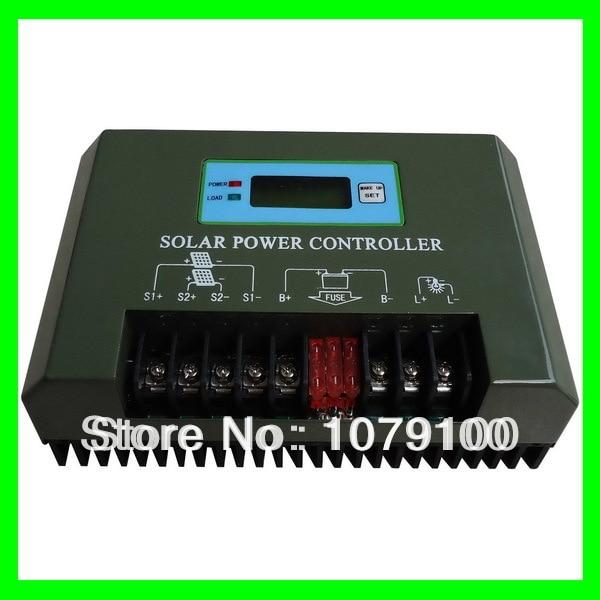 CE&RoHS Certificate LCD and LED Display 12V 40A mppt 40a 12v 24v 48v solar charger  цена и фото