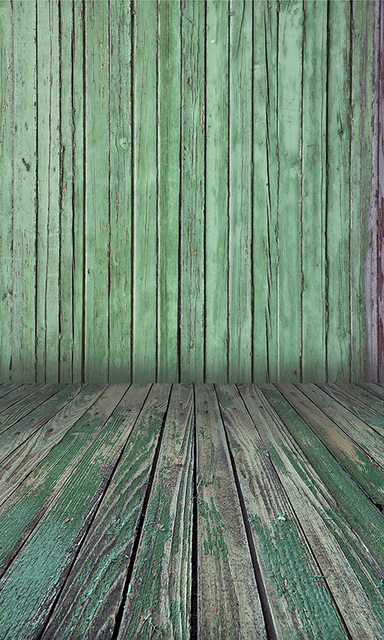 Paint green wood wall floor photography background digital