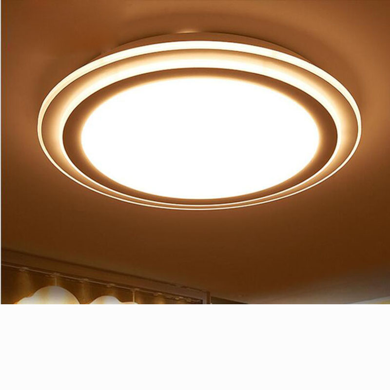 Round wrought iron led living room ceiling lamp simple acrylic bedroom lights restaurant lights aisle lamps led lighting fixture modern bedroom living room ceiling lamp surface mounting balcony lighting fixture wrought iron ceiling lamps acrylic ceiling lam