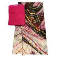 best price 100% silk Chiffon Fabric pure mulberry silk tulle dress fabric Silk scarf African Wedding Dress Clothes tissu