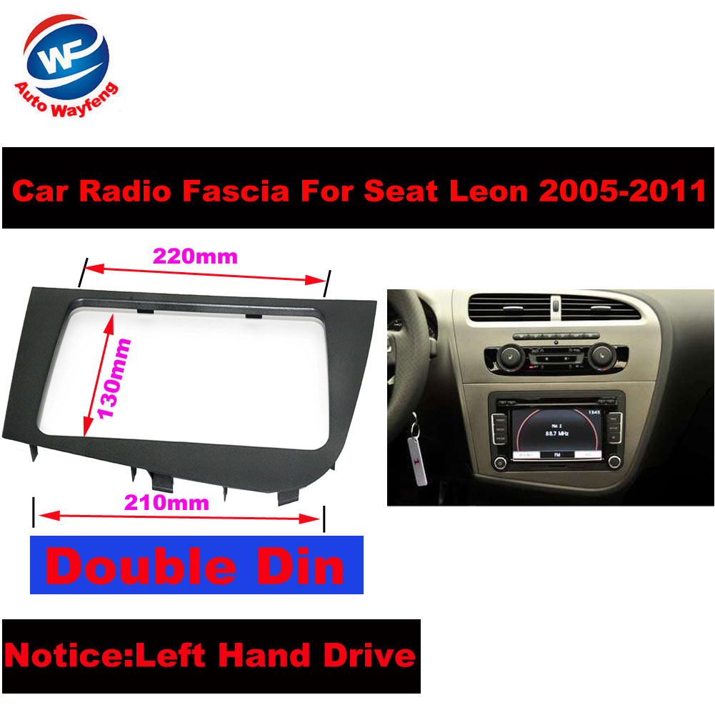 •Double 2 DIN Car Stereo Radio Head Unit GPS Navigation plate ...