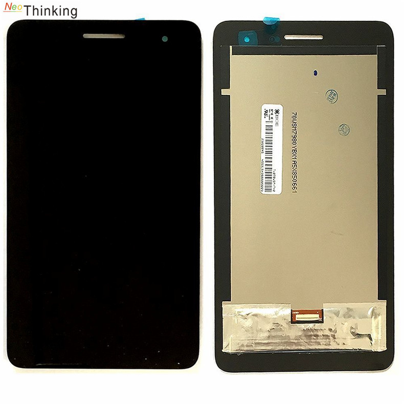 NeoThinking For Huawei Honor Play Mediapad T1 701U T1-701U Touch Screen + LCD Digitizer Assembly Free Shipping lcd complete for huawei honor play mediapad t1 701 t1 701w t1 701w lcd display screen touch digitizer replacement panel assembly