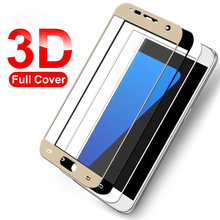 Lucy Xu 3D Tempered Glass For Samsung Galaxy A5 A7 A3 2016  Screen Protector For Samsung S7 S6 A3 A5 A7 2017 Tempered Glass Film все цены