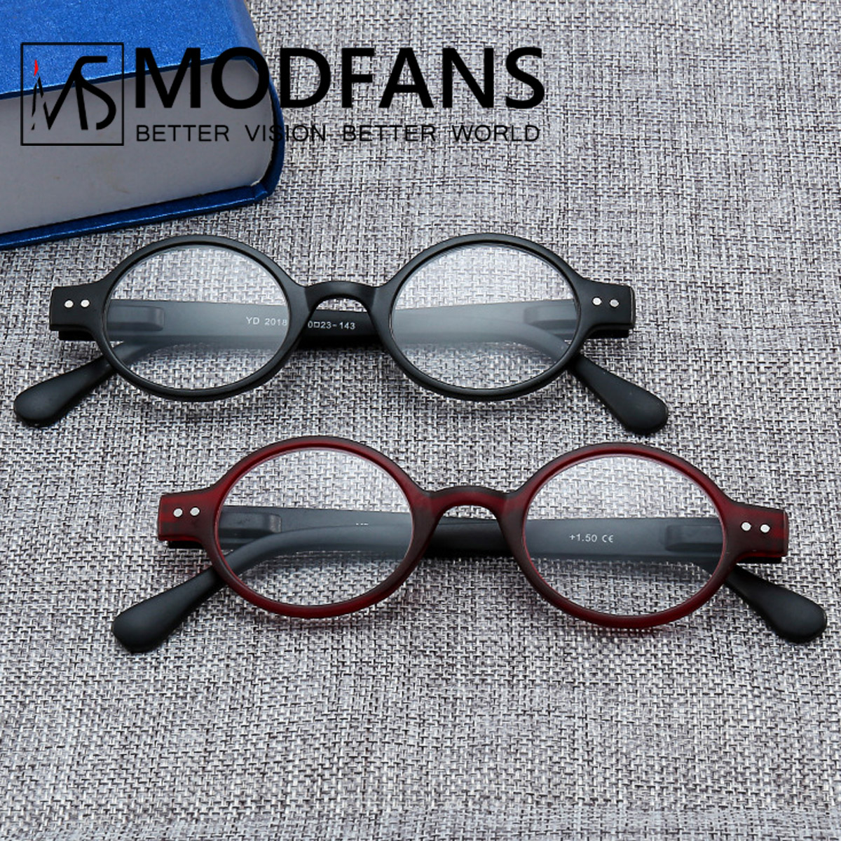 Read Eyeglass Men Women Round Vintage Reading Glasses Light Weight With Spring Hinge Easy To Carry +1 +1.5 +2 +2.5 +3 +3.5