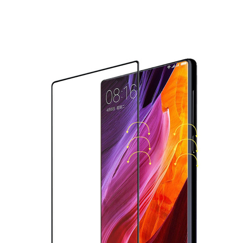 WeeYRN Protective Glass Xiaomi mi Mix 2 Mix 2s Full Coverage Tempered Glass Screen Protector Xiaomi mi Mix 2s Mix 2 Glass 2 5D in Phone Screen Protectors from Cellphones Telecommunications