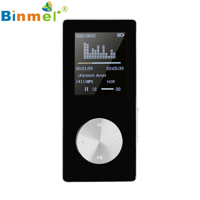 Del Mp3 1 8 TFT Black 4G MP3 HiFi Lossless Sound Music Player FM Recorder TF