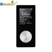 """Del Mp3 1.8 """"TFT Negro 4G MP3 Reproductor de Música de Sonido Sin Pérdidas de Alta Fidelidad FM Tarjeta DEL TF Registrador Apr20 #2"""