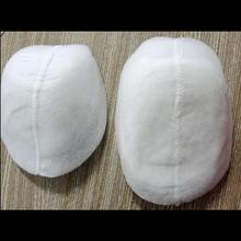 цена на Factory Price Customized 2018 Fashionable Exported Quality Garment Cotton Fibre Cover Shoulder Pads