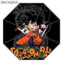 P# Dragon Ball Z 04 Umbrella Custom Printing Foldable Sun Rain Travel Umbrella Non Automatic Decorative High Quality Umbrella