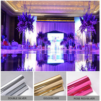Wedding Party Carpet Aisle Runner Decoration 40in by 65 ft Silver/Gold/Rose red/Purple/Fuchsia Wedding Carpet for Party