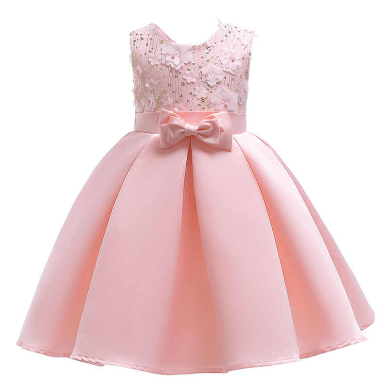 5d46dcda3 Children clothing baby girl dress child petal dress kids Princess party  floral 2 3 4 5