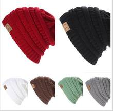 60c6c76f2b227 Hot New Winter 2016 Rushed Special Solid Adult Gorro C Men s Women s Chucky  Stretch Cable Knit Slouch Cc Beanie Skully Ski Hat