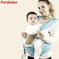 Спереди нести рюкзак-кенгуру 3D сетки плеча Hands Free слинг новорожденных сильный Поддержка маленьких Обёрточная бумага ребенок Hipseat