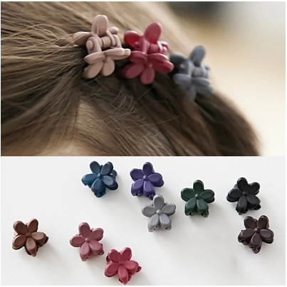 6pcs/lot elastic band bracelet hair accessories baby girl headband clips gum weave baffle braided bow bandana ornaments 7019