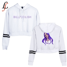 Bilie Eilish New Waist Cap Sexy Hoodies Fashion Trend Crop T