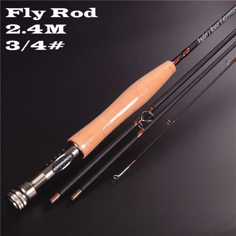 4 seção linha wt 3 4 4 5 voar vara pesca equipamento