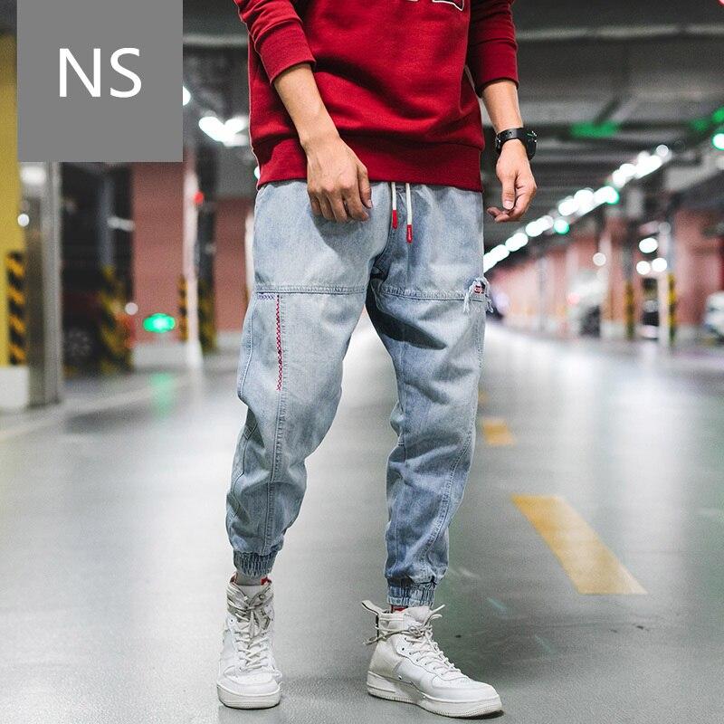 hip hop   jeans   men High Street loose punk pants homme 2018 dsq   jeans   masculino streetwear Street dance trousers mens fashion