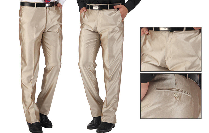 2014 new arrival mens suit pants brand western style men
