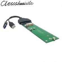 USB 3.0 for Macbook Air 2011 2012 SSD & USB 3.0 to SATA 22pin 2.5″ Hard Disk Drive External PCBA