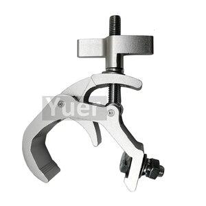 Image 3 - 30pcs/lot Professional Clamp Hook For Stage Light Aluminium Disco DJ Lingt Hook Quick Coupler Truss Clamp Aluminum Allay Clamp