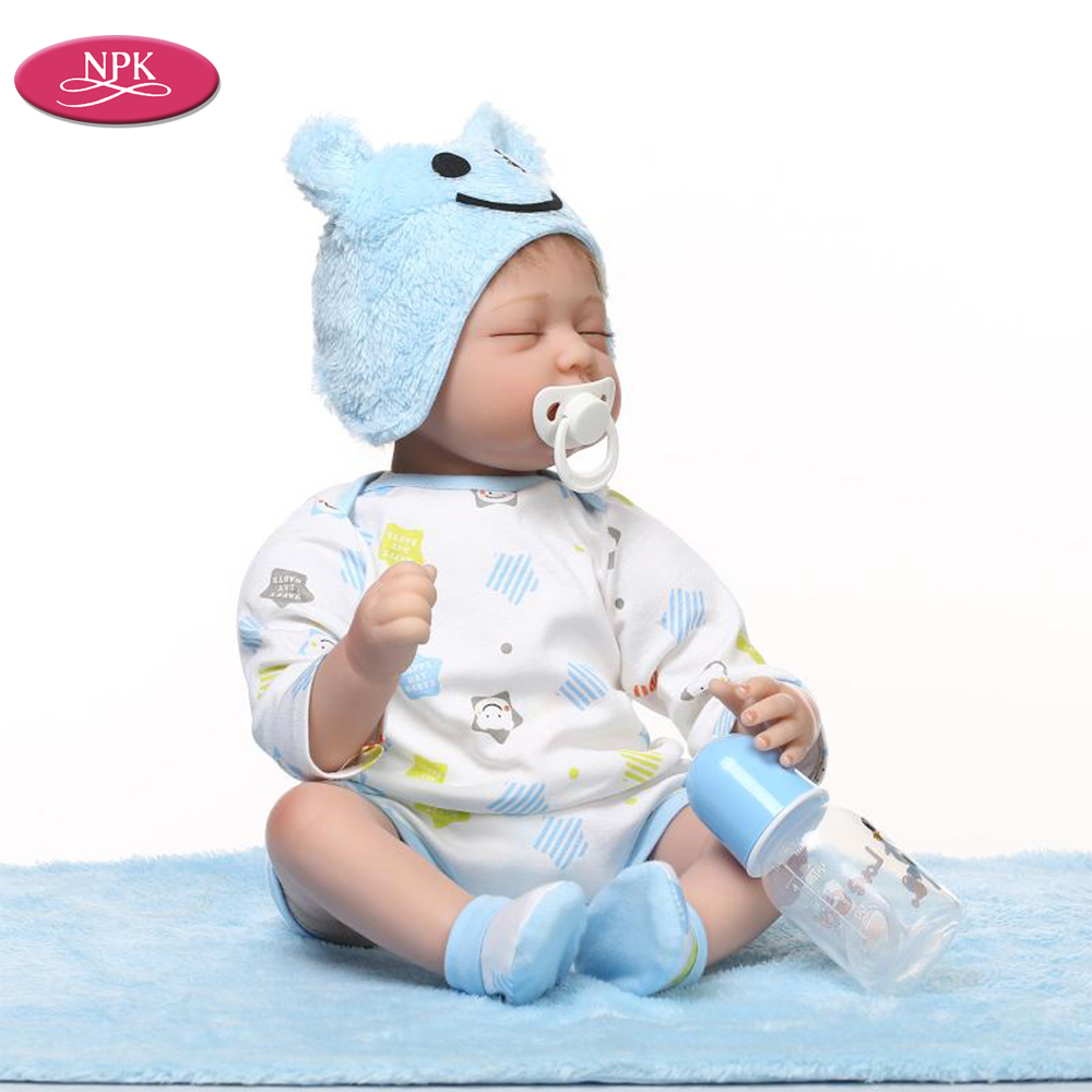 Npk Soft Body Silicone Reborn Baby Doll Toys Super