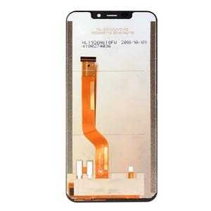 Image 5 - OUKITEL C12 ЖК дисплей + сенсорный экран 100% оригинальный протестированный ЖК дигитайзер стеклянная панель Замена для OUKITEL C12 PRO