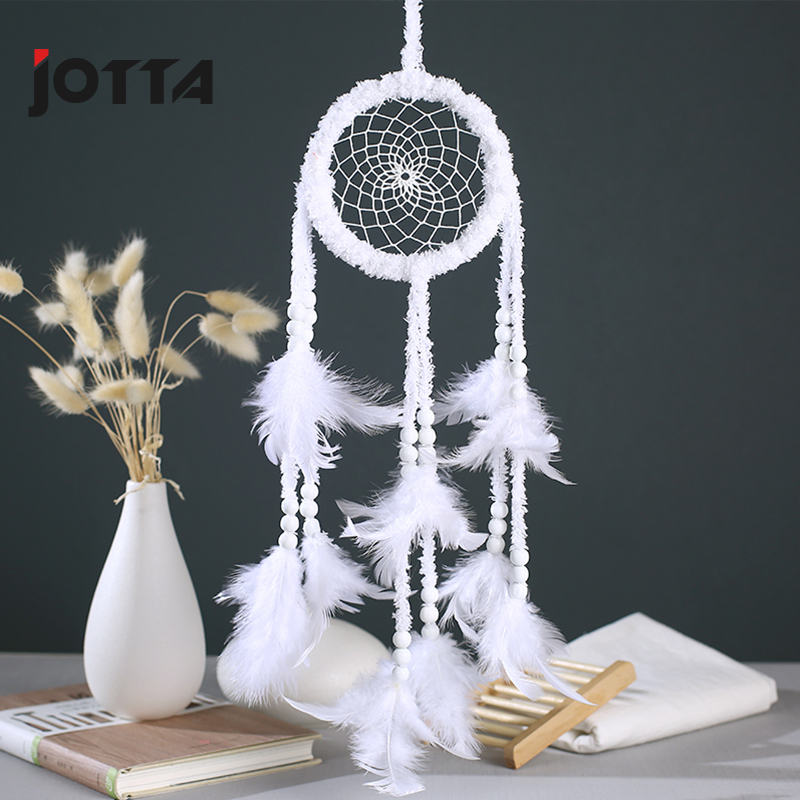 Variety Dream catcher white plush pendant car classmate gift wedding dream