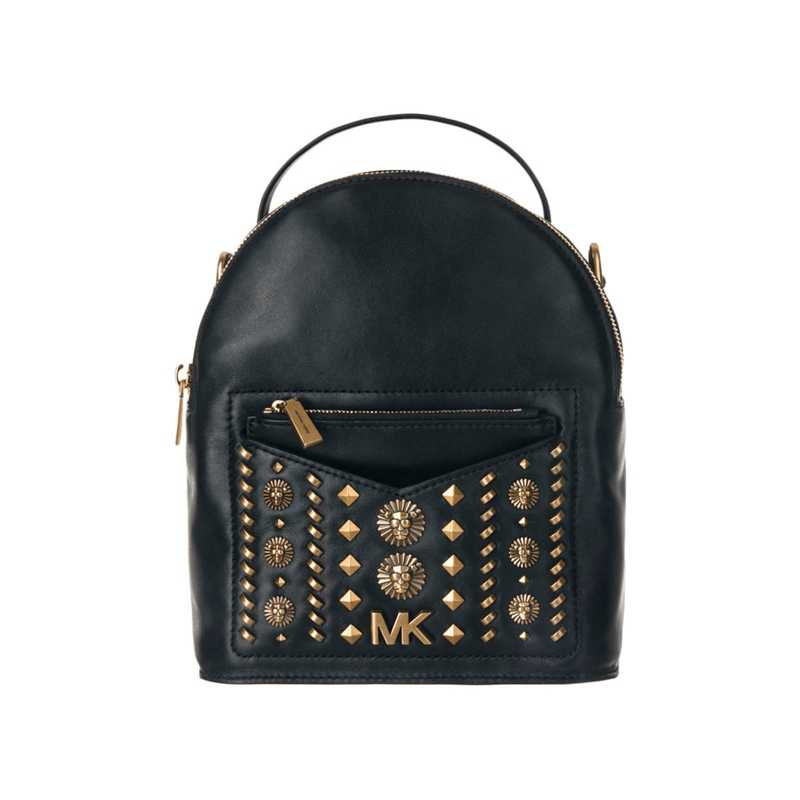 Michael Kors Jessa Small Embellished Leather Convertible Backpack 30T8AEVB5O