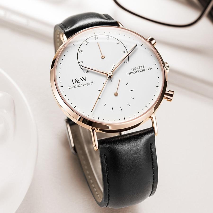 Здесь продается  Minimalist Design Switzerland Watches Carnival Luxury Brand Watch 2016 New Men Business Quartz Watch Casual Leather Wristwatches  Часы
