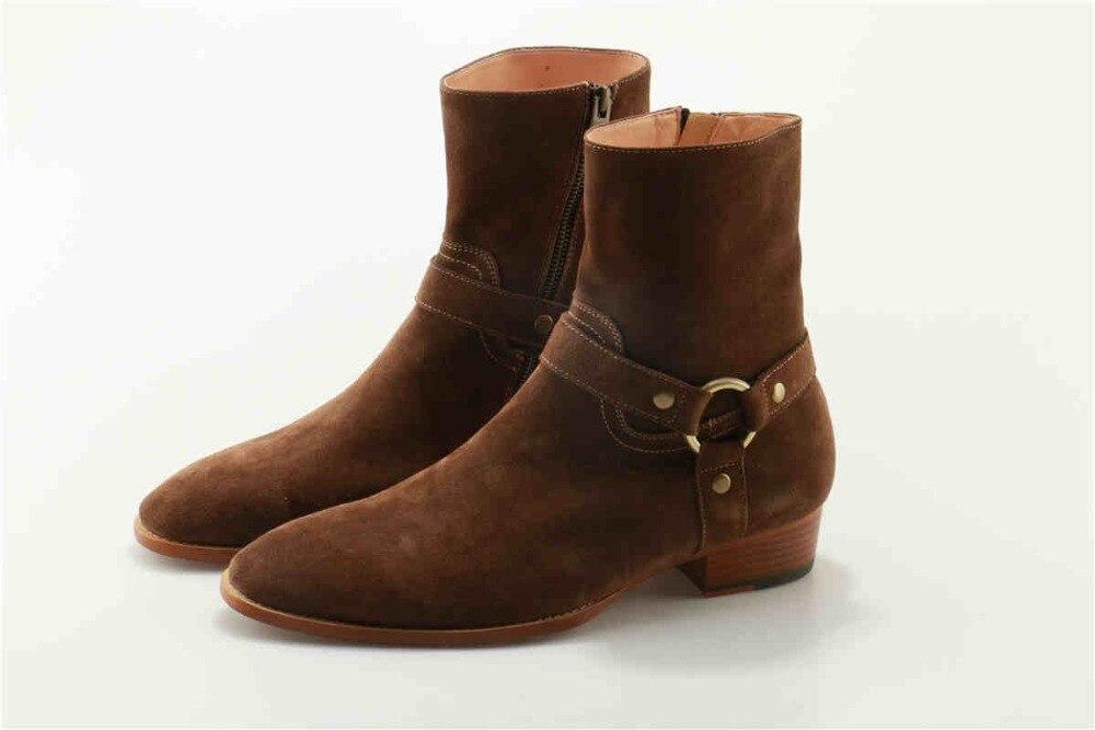 Conception Pic Luxe En Bottillons Courts As Superstar Métal Marque Piste Hommes Cowboy Bottes Boot Masculino Western De Décoration Sapatos Cheville as Pic 9WD2EHIY