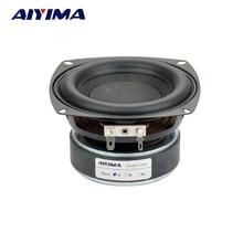 Aiyima 1 шт. 4 дюймов Hi-Fi 8ohm сабвуфер Динамик Аудио Супер нч громкоговоритель 40 Вт высокое Мощность