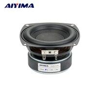 1PC 4 Inch Hi Fi 8ohm Subwoofer Speaker Audio Super Bass Woofer Loudspeaker 40W High Power