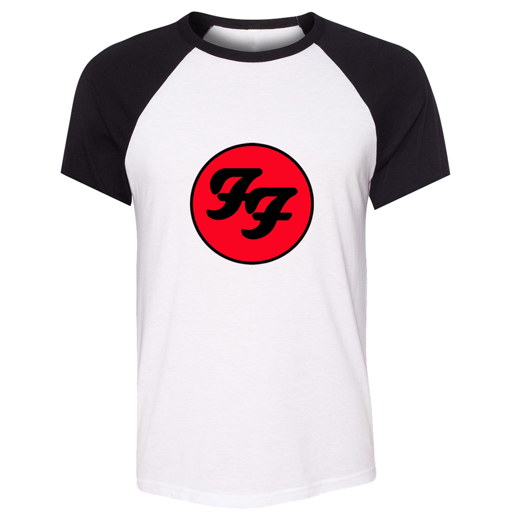 Foo Fighters Hard Rock And Roll Band T Shirt Men Boy Women Girl Tshirt West Coast Choppers Raglan Short Sleeve T-shirt Anime image
