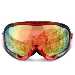 Mounchain pełna rama Unisex zima narciarskie gogle śnieg wyżywienie gogle ochrona UV gogle śnieżne kask kompatybilny na świeżym powietrzu jazda na nartach