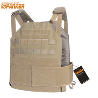EXCELLENT ELITE SPANKER Outdoor Hunting Tactical Molle Vest AMP System Plate Carrier CS Military Vest Equipment Nylon Waterproof