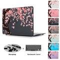 Cherry Blossom дерево в Черный Цвет Чехол Для Macbook Pro Retina 13 15 11 13 Новый Retina Pro 12 13 15 Рождество подарки