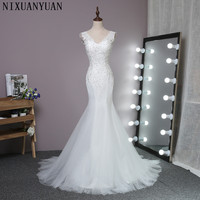 Robe de mariage Seksi Mermaid Gelinlik Bel Mermaid Gelinlikler Dantel Gelin Elbise 2016 Vestido de noiva Sereia