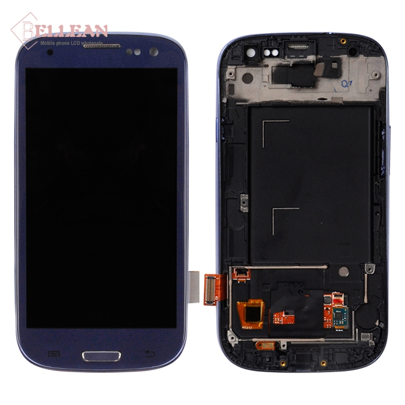 Image 5 - Catteny i9301 i9305 Lcd Display For Samsung Galaxy S3 Lcd i9300 Display With Touch Screen Digitizer Assembly+Frame+Homebutton-in Mobile Phone Touch Panel from Cellphones & Telecommunications