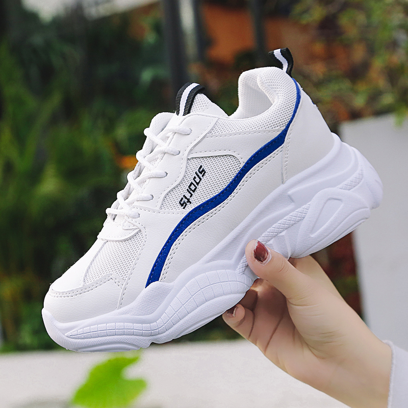 Women Professional Running Shoes Women Breathable Disruptor 2 Sneakers Girl Increased Retro INS Hot Dad Shoes New Arrival