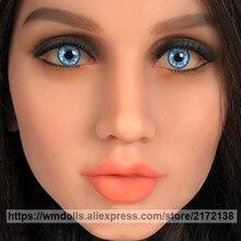WMDOLL Blue Eye with Silicone Sex Dolls Adult TPE Love Doll Lifelike Sexy Eyes Real Doll