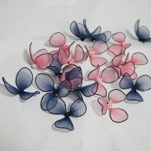 10pcs/lot flowers beaded patches for clothing DIY sew on floral parches Embroidery flower applique wedding dresses hat bags