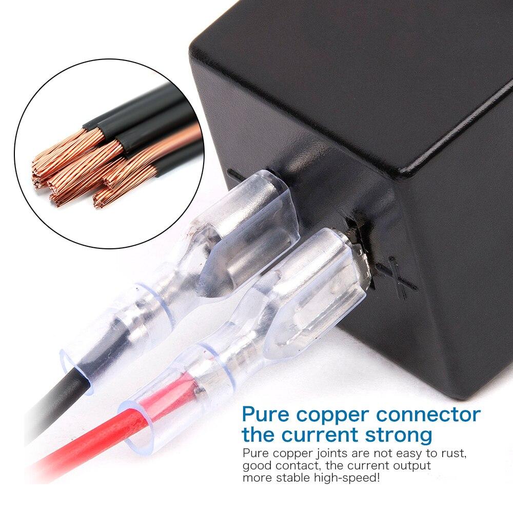 Suya davamlı 12V-24V Mini Mikro İkiqat USB Plug Car Motosiklet - Avtomobil ehtiyat hissələri - Fotoqrafiya 4